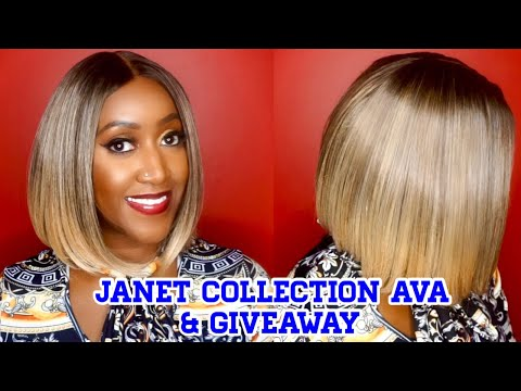 Sexy Synthetic Summer Bob! – Janet Collection – AVA – Plus Giveaway!!