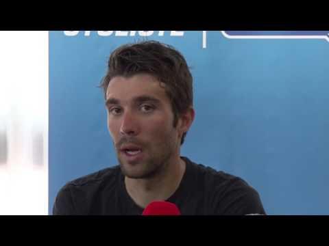 Thibaut Pinot - Conférence de presse - Jour de repos 2 - Tour d'Italie / Giro d'Italia 2017