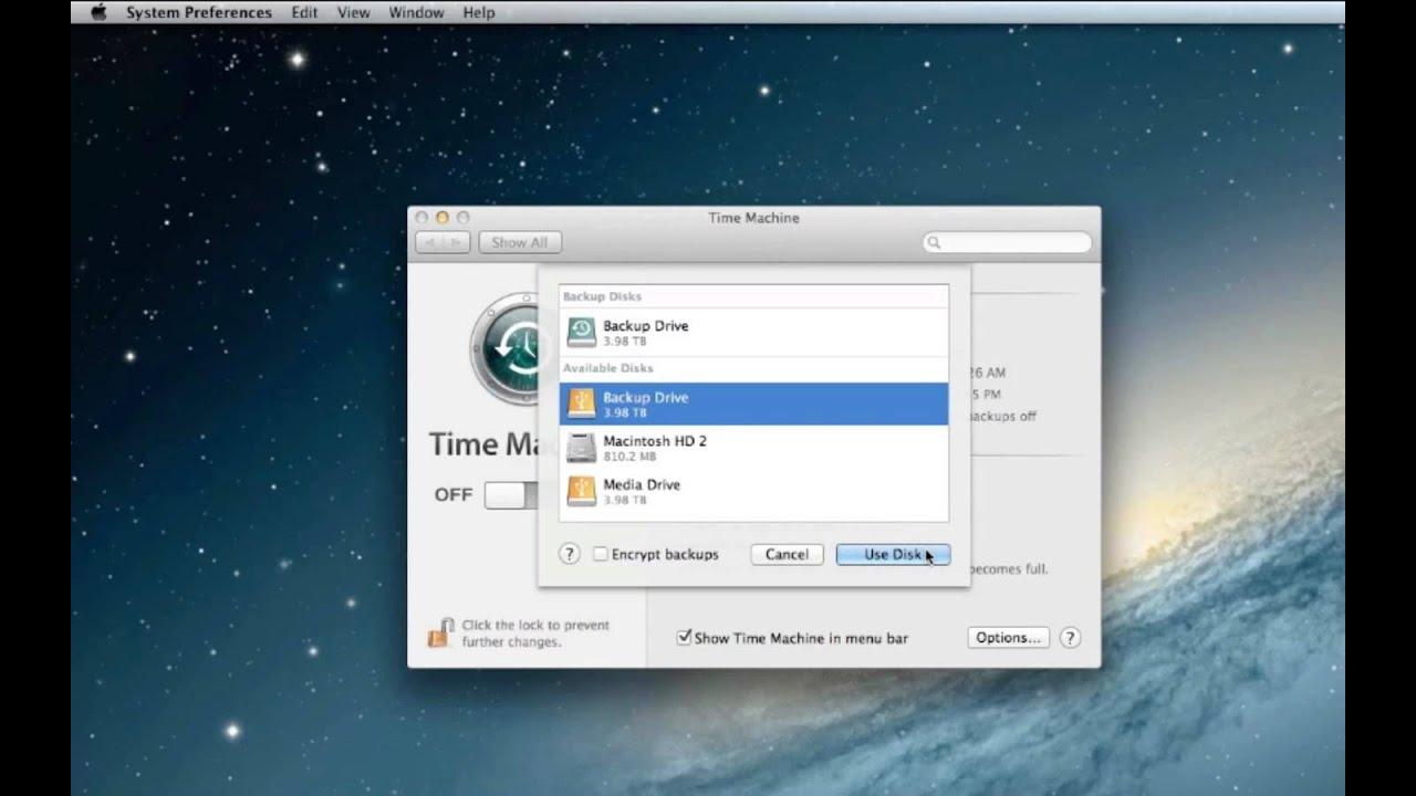 Mac time machine backup to external hard drives