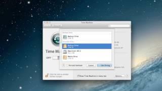 Using Time Machine to backup an external hard drive