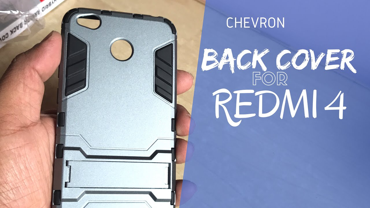 huge discount a71df beb6e BEST BACK COVER FOR REDMI 4 FROM CHEVRON