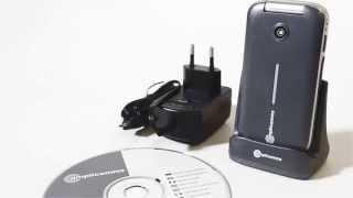 Produktvideo zu Schwerhörigen-Handy Amplicomms PowerTel M7000i
