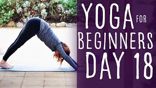 25 Minute Yoga For Beginners 30 Day Challenge Day 18 With Fightmaster Yoga