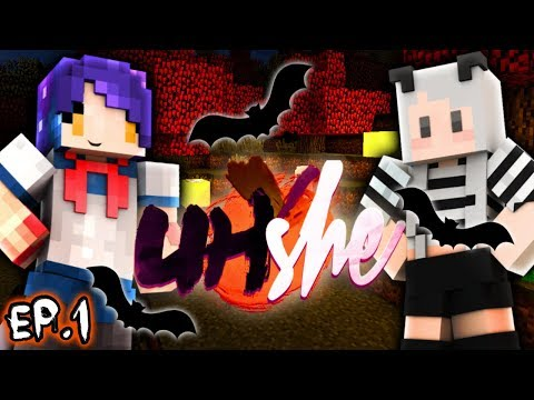 Yandere Chan & Mousie Play Minecraft UHC!! - UHShe Teams! BOOHShe - Ep 1