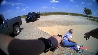 Senior Sovereign Citizen Gets Tased After Resisting Arrest and Refusing to Sign $80 Ticket