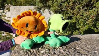 Видео для детей с игрушками про растения