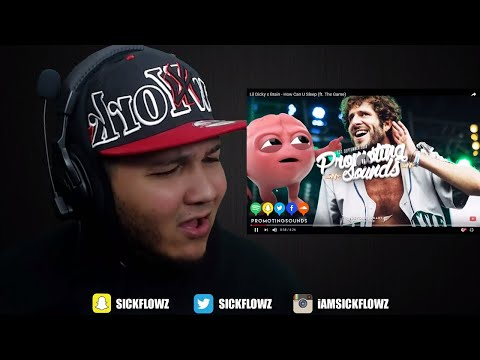 🔥🔥 REACTION!! 🔥🔥 Lil Dicky x Brain - How Can U Sleep (ft. The Game)