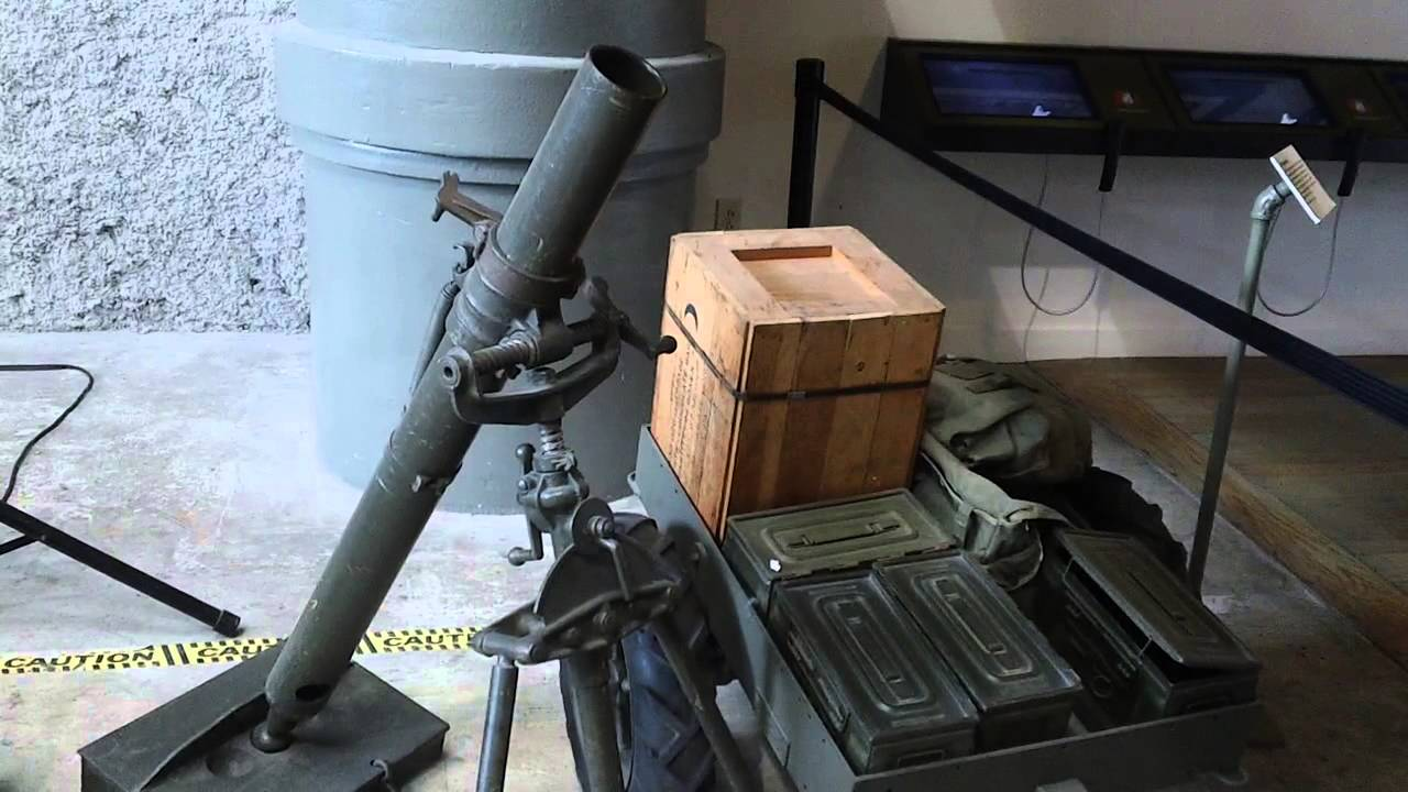ML Mortar  MK  British Ordonnance National World War II Museum - World war ii museums in usa
