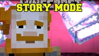 Minecraft: STORY MODE - THE SECRET ENDER DRAGON TRUTH! [Episode 4][3]