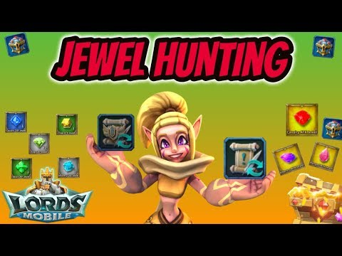 Lords Mobile - Jewel Hunting