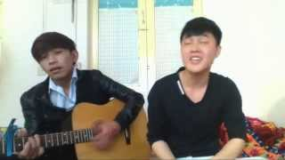 Mashup Anh là của em + Một nhà guitar cover by HKT ft Uandi Ntc