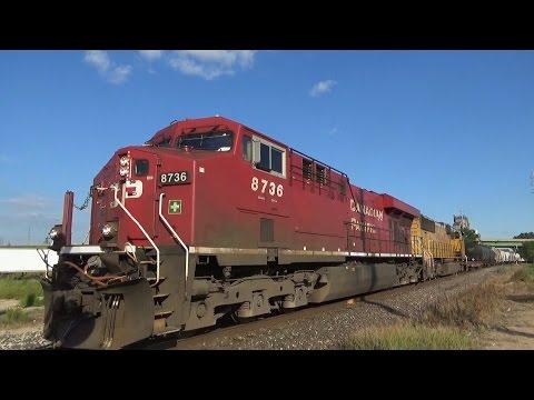 Railfanning Dubuque IA 7-3-16
