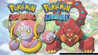 Como conseguir a Hoopa y a Volcanion en pokemon Rubi Omega/Zafiro alfa