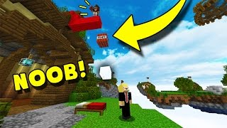 MOST OP TNT TROLL EVER! MUST SEE! (Minecraft Bed Wars)