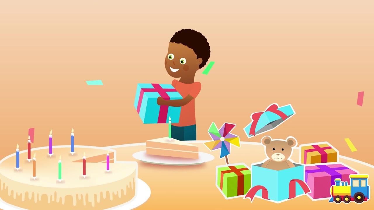 Comptine Pour Bebe Avec Le Prenom Nounours Joyeux Anniversaire