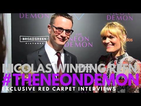 Nicolas Winding Refn, Director, interviewed at the LA Premiere of The Neon Demon #TheNeonDemon