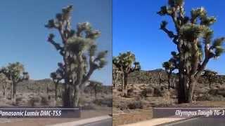 olympus Tough TG- 3 vs Panasonic Lumix TS5 Video Test