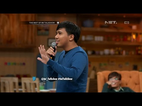 The Best of Ini Talkshow - Stand Up Comedy Joshua Suherman Lucu Juga