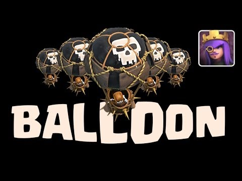 Clash of Clans Angriff Strategie - Ballon - (german)