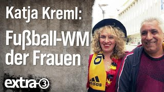 Reporterin Katja Kreml: Fußball-Weltmeisterschaft der Frauen