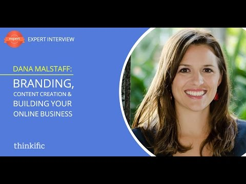 Branding, Content Creation & Building Your Online Business | Interview with Dana Malstaff
