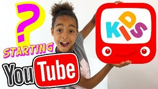 HOW TO START A YOUTUBE CHANNEL (KIDS EDITION)