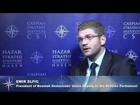 CASPIAN STRATEGY INSTITUTE EMIR ELFIC INTERVIEW