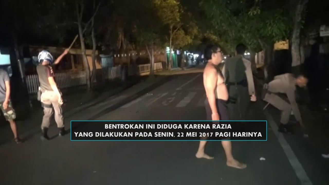 Polisi Serang Markas Satpol PP Padang YouTube