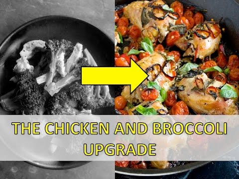 How to Upgrade your boring Chicken and Broccoli with this Delicious Tomato and Basil Sauce