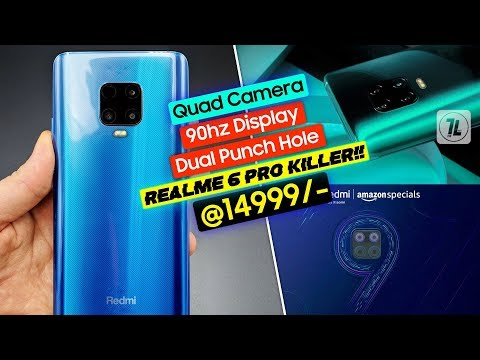 Redmi Note 9 & Note 9 Pro India Launch Date - Official Look, Price & Specs | Realme 6 Pro Killer??