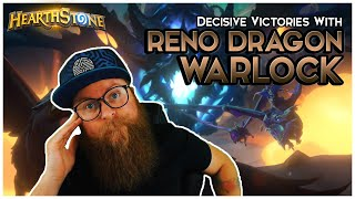 Teaching Secret Mage a Lesson with RENO DRAGON WARLOCK | Hearthstone | Descent of Dragons