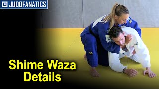 Shime Waza Details Following by Charline Van Snick
