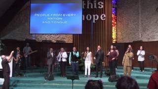 Miami Temple Praise & Worship We Worship You Hallelujah 040916