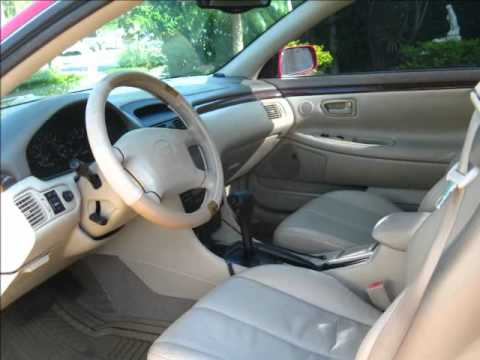 2000 toyota camry solara sle v6 youtube. Black Bedroom Furniture Sets. Home Design Ideas