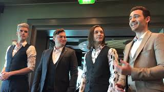 Collabro - Send In The Clowns - Acoustic - Stages Festival Cruise  2018