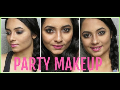 PARTY MAKEUP LOOK VIDEO | EYE  AND LIP MAKEUP | FALGUNI THACKER | BEAUTY,BOOKS & PIZZA