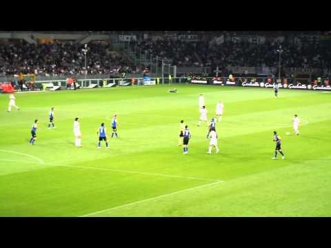JUVENTUS Vs Chievo palo Chiellini/uscita di Buffon.....