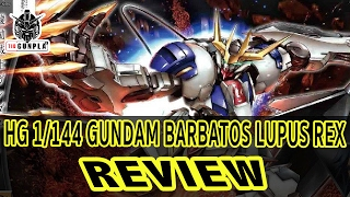 review hg 1 144 gundam barbatos lupus rex by tid gunpla thai ไทย