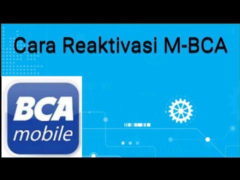 ( Tutorial BCA ) Cara Reaktivasi M-banking BCA