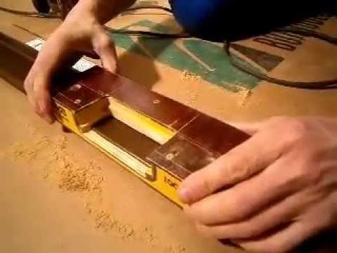 шаблоны фрезеровки коробки дверей для петель