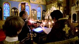 The Great Canon of St Andrew of Crete - Part 1 of 5 Holy Trinity Orthodox Church Yonkers, NY