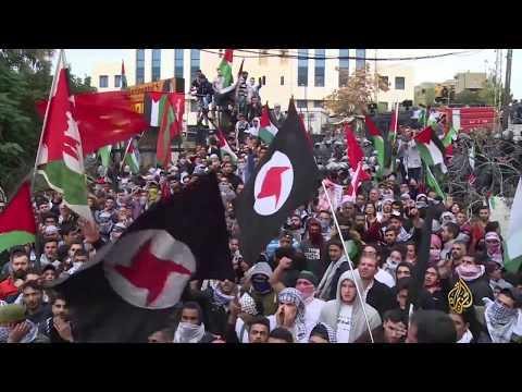مظاهرات حاشدة أمام السفارة الأميركية في بيروت  - نشر قبل 5 ساعة