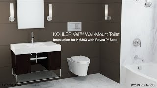Installation - Veil Toilet with Reveal Seat