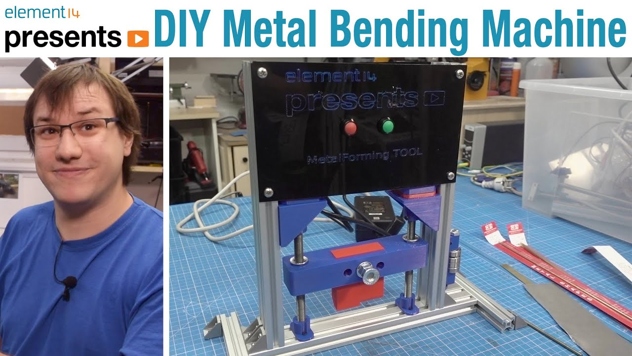DIY Arduino Automated Metal Bending Machine