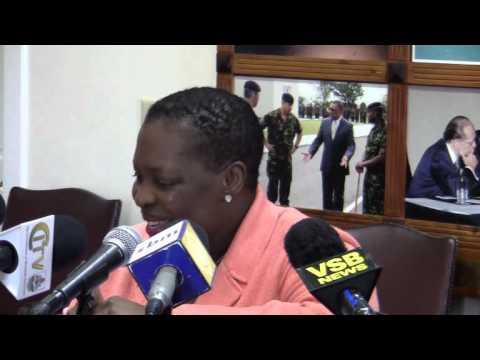 Premier Paula Cox On Bermuda's National Interest February 22 2012