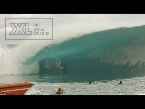 Matahi Drollet at Teahupoo 5 - 2015 Billabong Ride of the Year Entry - XXL Big Wave Awards