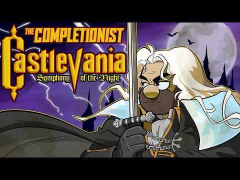 I Freaking LOVE Castlevania Symphony Of The Night | The Completionist | New Game Plus