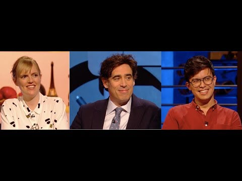 Room 101, Series 7, Episode 6. Holly Walsh, Stephen Mangan, Phil Wang. 30 Mar 2018