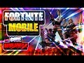 FORTNITE ON MOBILE! // FREE CODES GIVEAWAY // ANDROID DOWNLOAD?