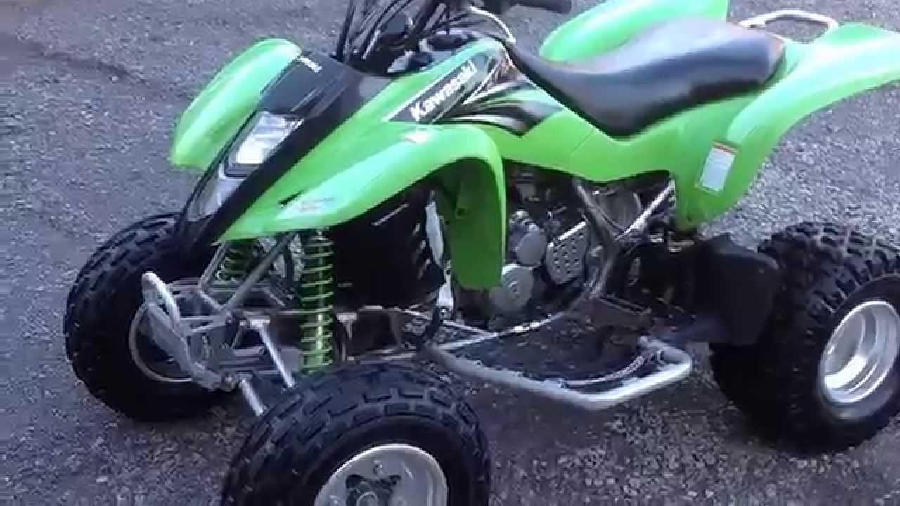 Kawasaki KFX 400 2004 - YouTube